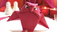 Украса от оригами тип Бухал Украса от оригами тип Бухал е подходяща за най-различни поводи (Сватба, Тържества, Събирания, Рожден ден, Имен ден, Празници и т.н.). Позитивните страни на Бухала е...
