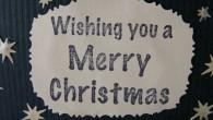 Коледна картичка Ангелче