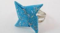 Оригами пръстен Звезда